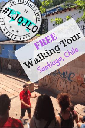 Santiago Free Walking Tour - The Traveller's Guide By #ljojlo