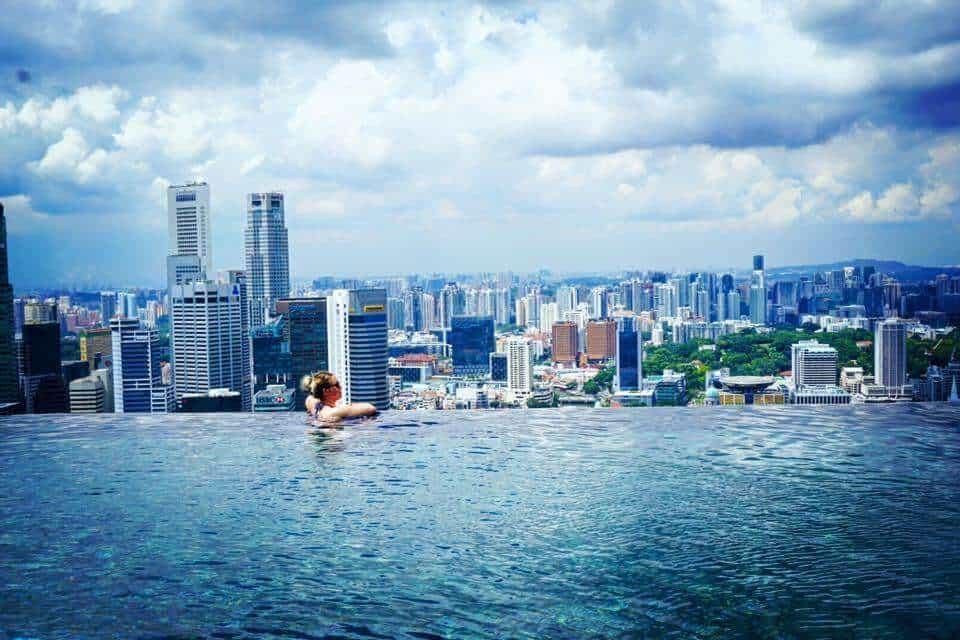 Marina Bay Sands Pool - Luxury Travel Hacks