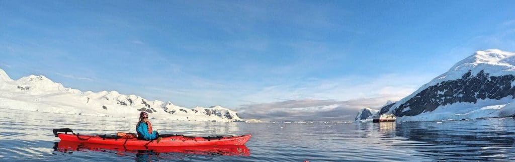 Luxury Travel Hacks - Kayaking Antarctica